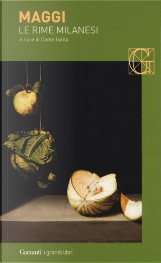Le rime milanesi by Carlo Maria Maggi