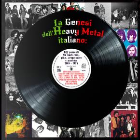 La genesi dell'Heavy Metal italiano: riff possenti fra hard rock, glam, progressive e NWOBHM (1969-1979) by Johnny Hard Rossini