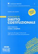 Manuale di diritto costituzionale by Federico Del Giudice