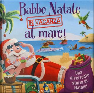 Babbo Natale in vacanza al mare! Luccichini di Natale