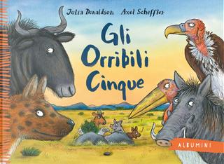 Gli Orribili Cinque by Julia Donaldson