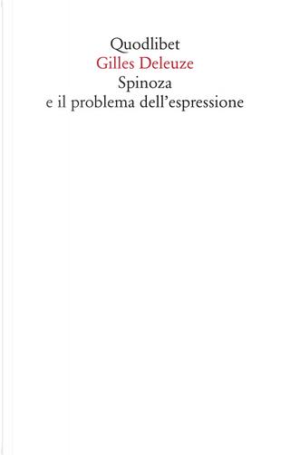 Spinoza e il problema dell'espressione by Gilles Deleuze