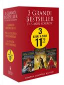 3 grandi bestseller di Simon Scarrow: L'armata invincibile-Per la gloria dell'impero-La spada dell'impero by Simon Scarrow