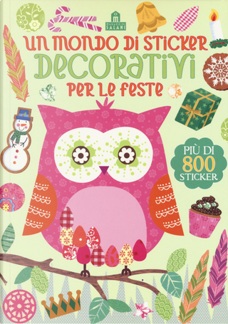 Un mondo di sticker decorativi per le feste