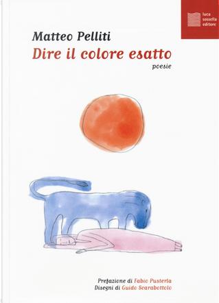 Dire il colore esatto by Matteo Pelliti