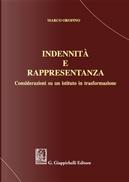 Indennità e rappresentanza. Considerazioni su un istituto in trasformazione by Marco Orofino
