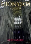 Diònysos. Arte, architettura, musica e blablabla. Vol. 6: Gennaio-giugno