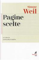 Pagine scelte by Simone Weil