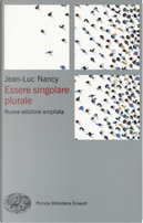 Essere singolare plurale by Jean-Luc Nancy