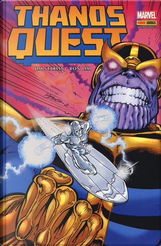 Infinity war. Vol. 1: Thanos Quest by Jim Starlin