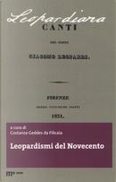 Leopardismi del Novecento