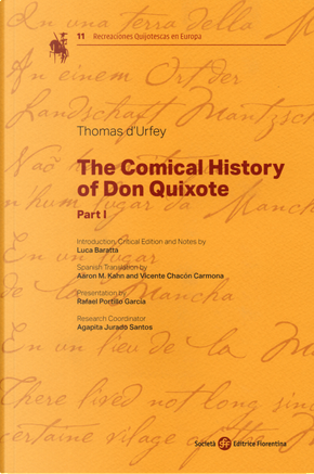 The comical history of Don Quixote by Thomas D'Urfey
