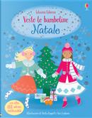 Natale. Vesto le bamboline. Con adesivi by Catriona Clarke, Leonie Pratt