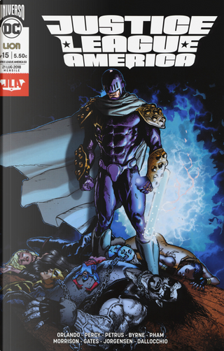 Justice League America. Ediz. jumbo. Vol. 15