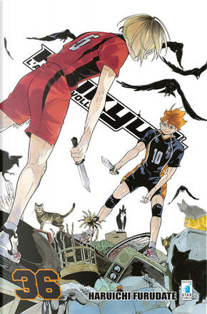 Haikyu!!. Vol. 36 by Haruichi Furudate