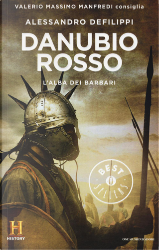 Danubio rosso. L'alba dei barbari. Il romanzo di Roma. Vol. 9 by Alessandro Defilippi