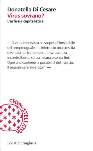 Virus sovrano? L'asfissia capitalistica by Donatella Di Cesare