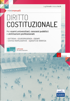 Mini manuali. Diritto costituzionale by Antonio Verrilli, Luigi Grimaldi